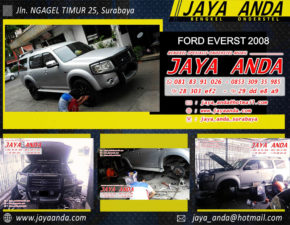 FORD EVERST 2008 silver