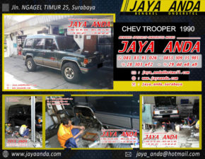 CHEVROLET TROOPER 1990 ms