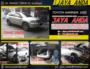 TOYOTA HARRIER 2005 Krem